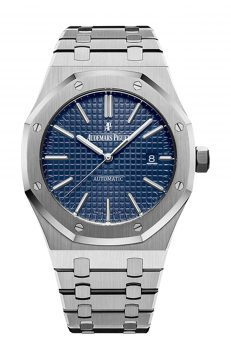 royal oak automatico blu